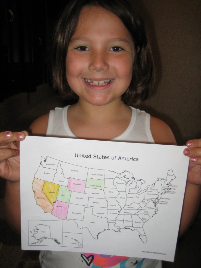 Olivia says only 44 states to go....