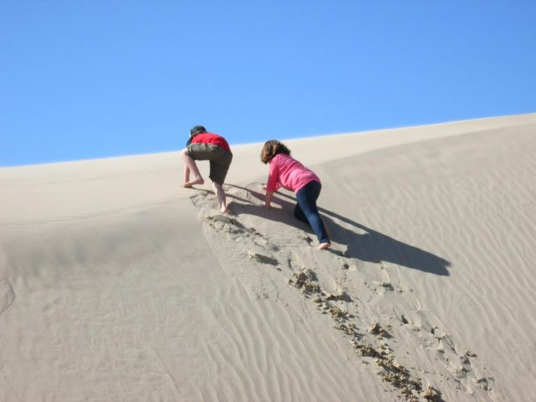 A steep one...