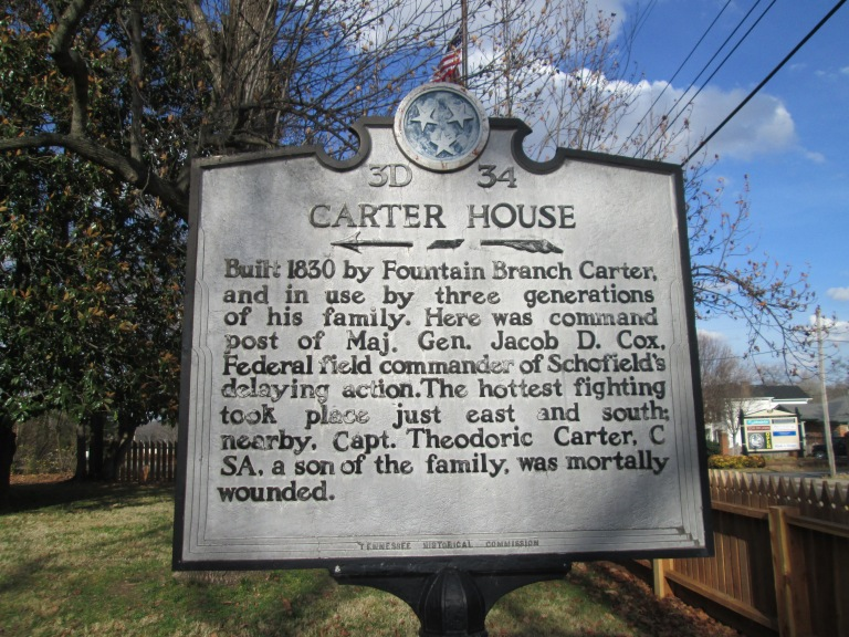 Carter House, Franklin, Tennessee