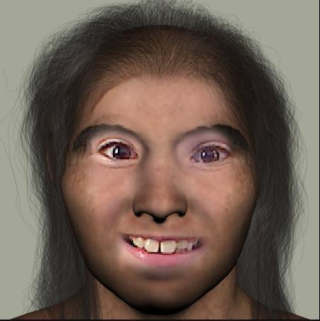 Smithsonian - Caveman Olivia
