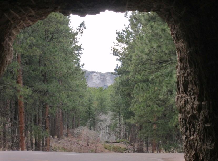 Iron Mountain Road, Tunnel View