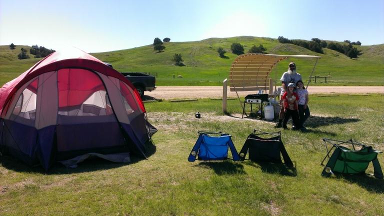 Sage Creek Campground, Badlands National Park