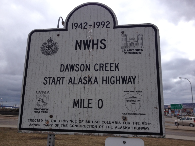 Dawson Creek, British Columbia, Alaska Highway