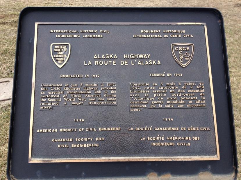 Dawson Creek, British Columbia, Alaska Highway