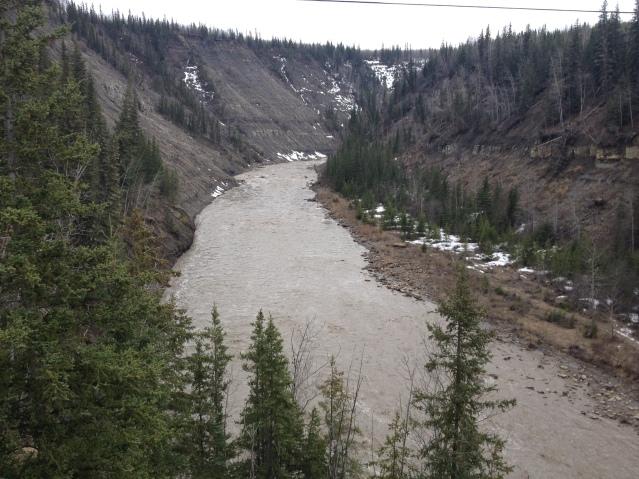 Kiskatinaw Timber Bridge, Old Alaska Highway