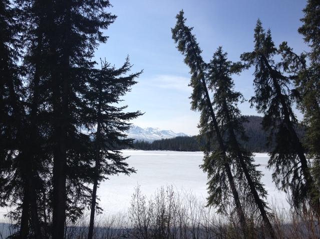 Slana River, Glenn Highway, Alaska