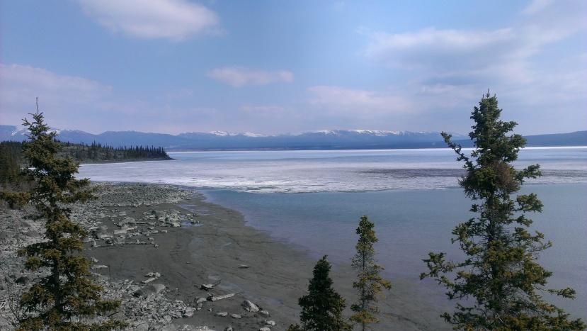 Kluane Lake, Yukon